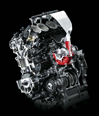 Ninja H2 motor