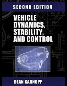 vehicle dynamics, stability and control