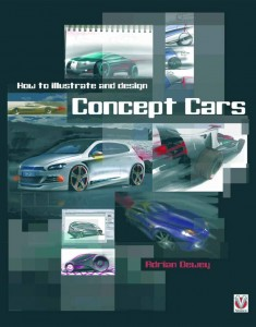 Illustrate and Design Concept cars